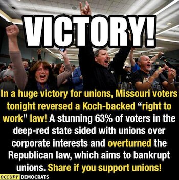 Victory against the Koch Brothers!